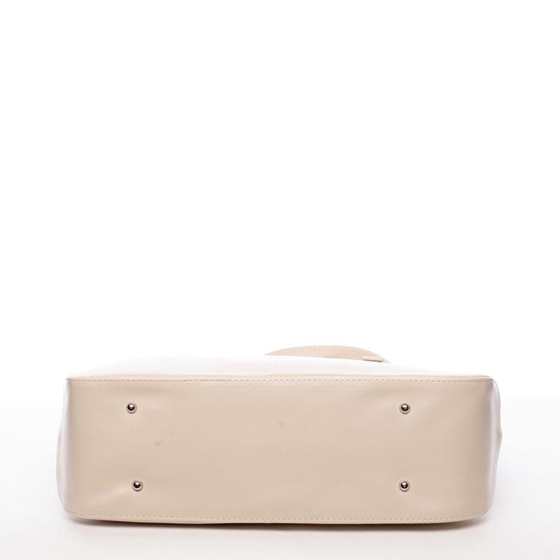 Dámská kabelka přes rameno Rebecca, béžová