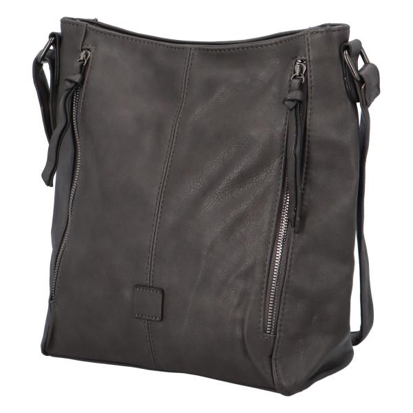 Stylová kabelka Lýdie, šedá