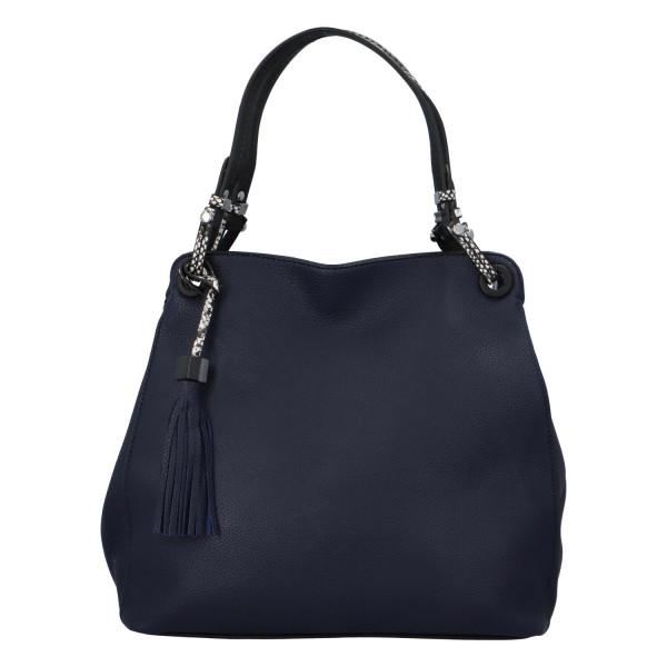 Stylová dámská kabelka Fany, modrá