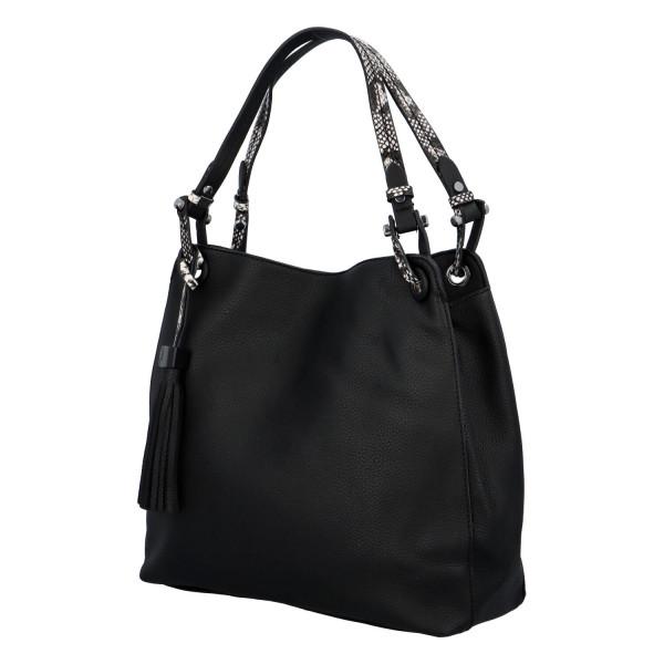 Stylová dámská kabelka Fany, černá