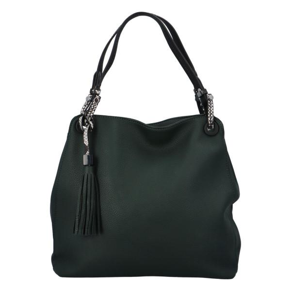 Stylová dámská kabelka Fany, zelená