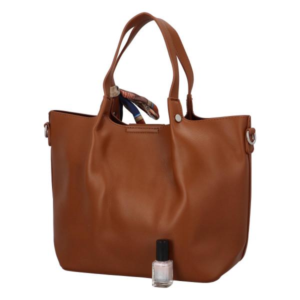 Nadčasová dámská kabelka Gabby, hnědá