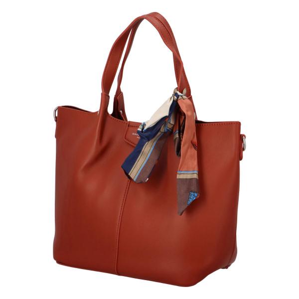 Nadčasová dámská kabelka Gabby, červená