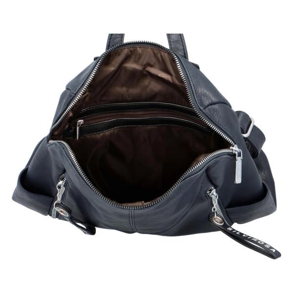 Nadčasový dámský batoh Sara, modrý