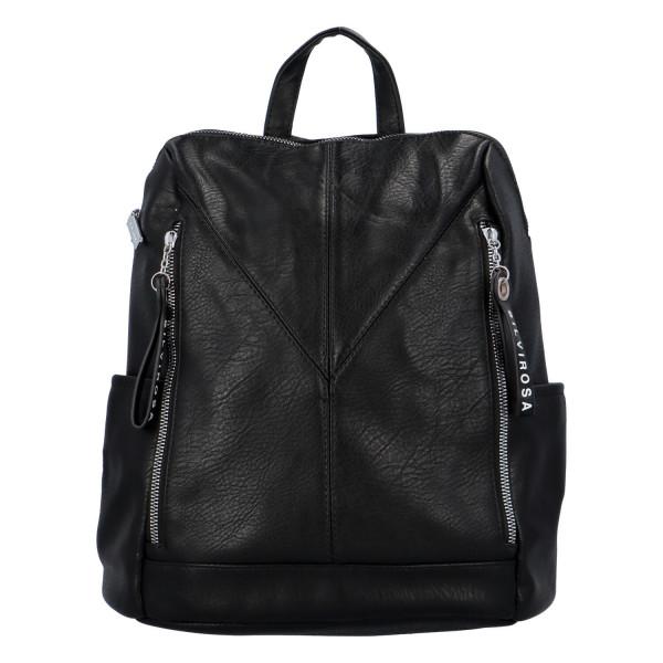 Nadčasový dámský batoh Sara, černý