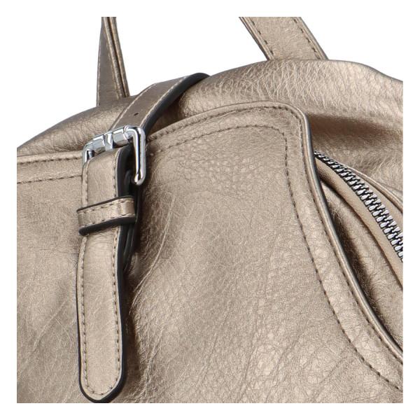 Stylový batůžek Roza, stříbrný