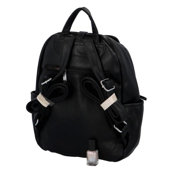 Stylový batůžek Roza, černý