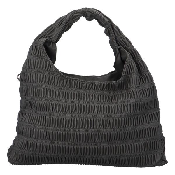 Výrazná dámská kabelka Quido, šedá