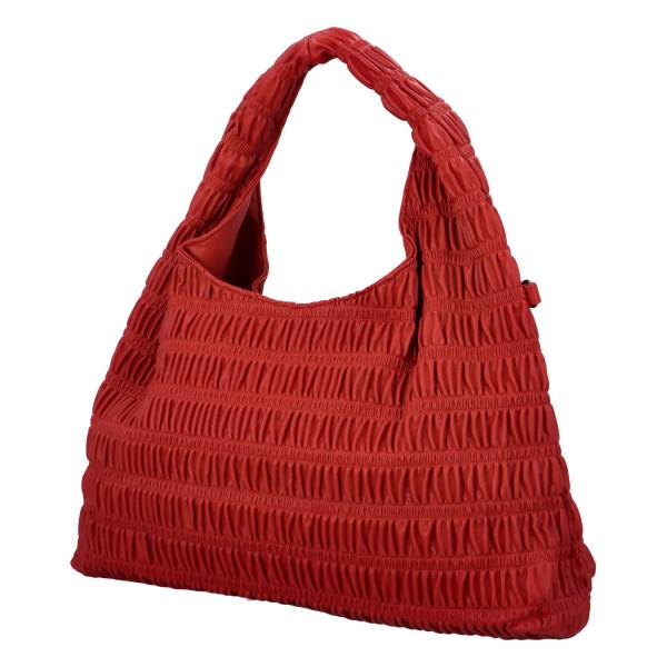 Výrazná dámská kabelka Quido, červená
