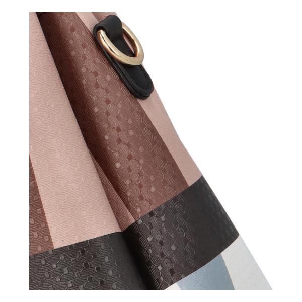 Elegantní dámská kabelka Rose, hnědá