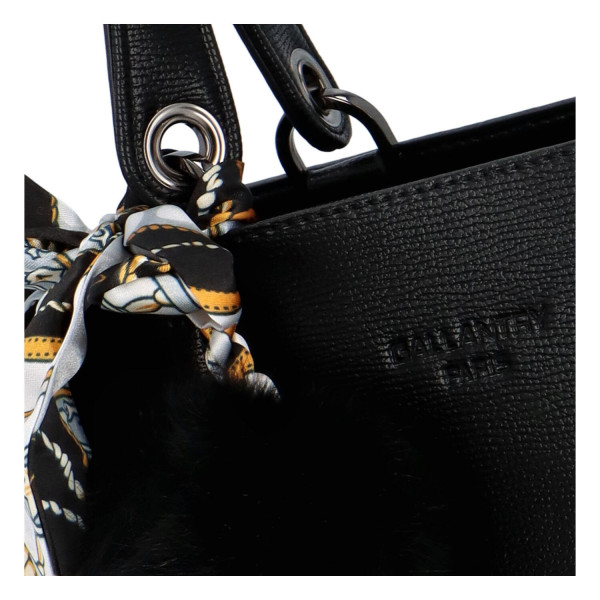 Elegantní dámská kabelka Alonzo, černá