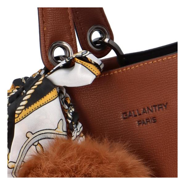 Elegantní dámská kabelka Alonzo, hnědá