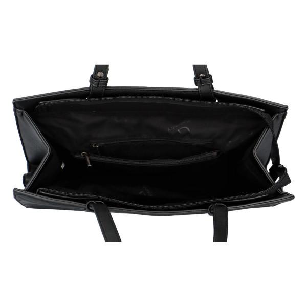 Elegantní dámská kabelka přes rameno Jenny, černá
