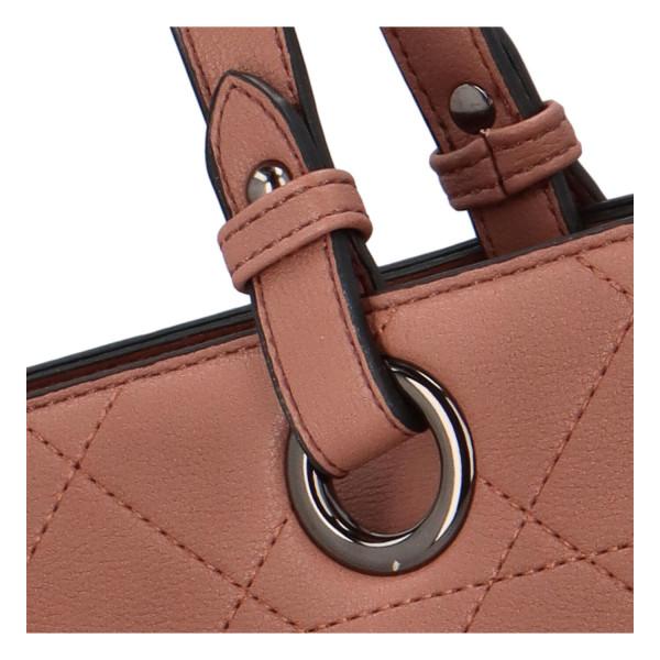 Elegantní dámská kabelka přes rameno Jenny, růžová