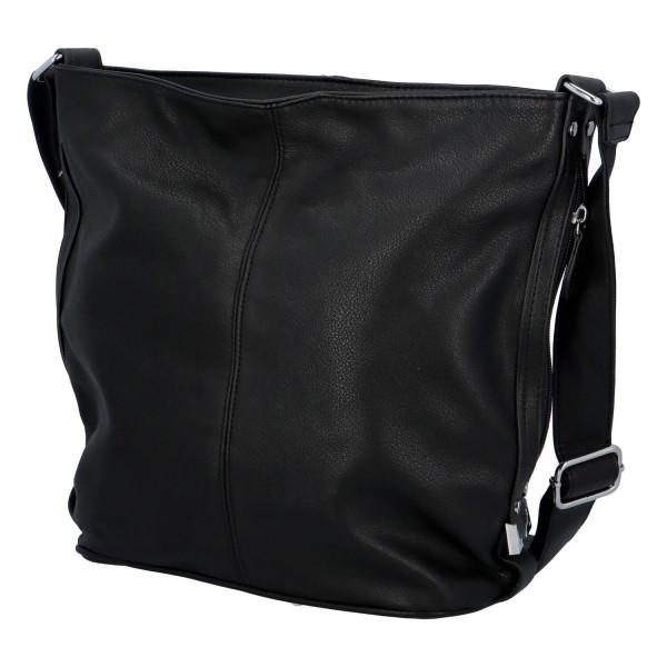 Dámská kabelka Aurelie přes rameno, černá
