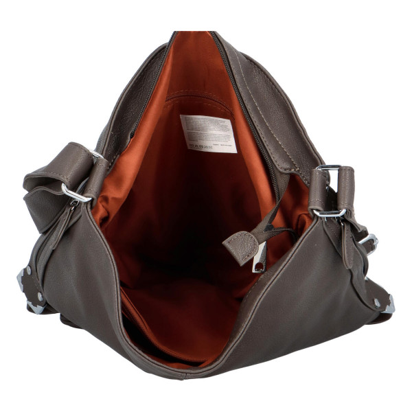 Dámská kabelka Aurelie přes rameno, šedá