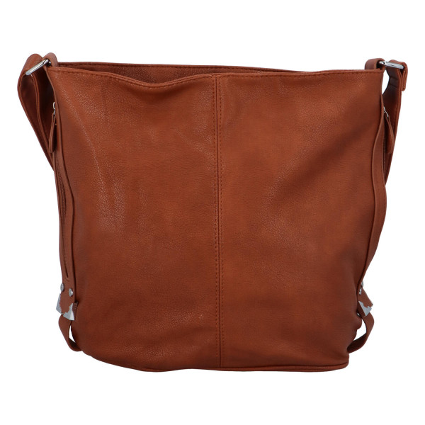 Dámská kabelka Aurelie přes rameno, hnědá