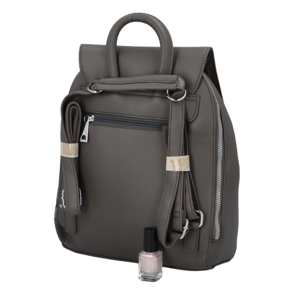 Elegantní  batůžek Egon, šedá