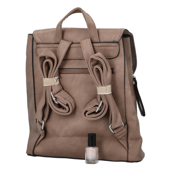 Koženkový batůžek Ellie, soil
