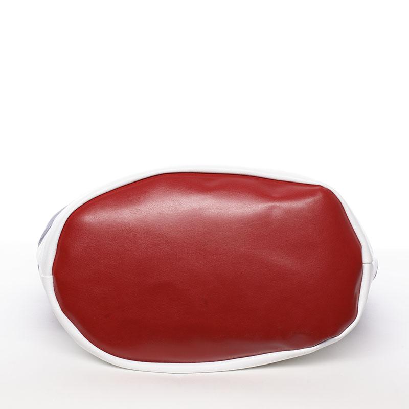 Okouzlující kabelka Salma, bílo-modro-červená
