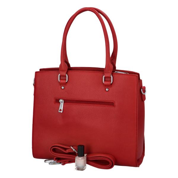 Stylová dámská kabelka Eleni, vínová