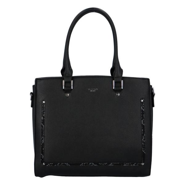 Stylová dámská kabelka Eleni, černá