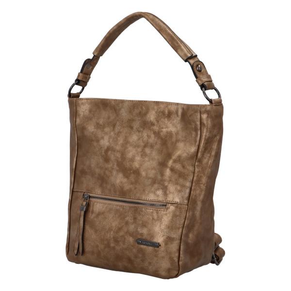 Módní dámská kabelka Turiana, zlatá