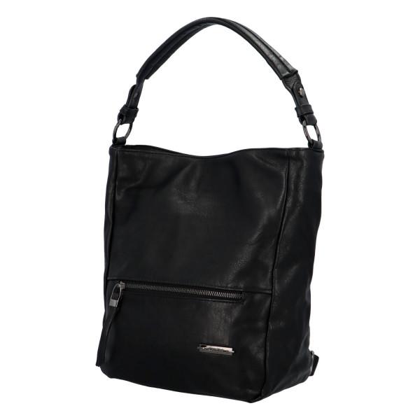 Módní dámská kabelka Turiana, černá