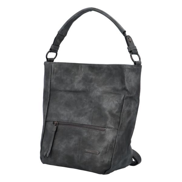 Módní dámská kabelka Turiana, šedá