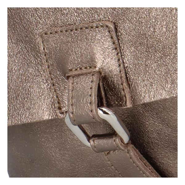 Dámský kožený batůžek Quido, bronzový