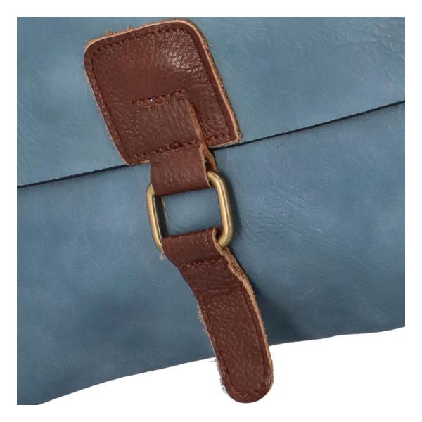 Stylová dámská kabelka Isla přes rameno, světle modrá