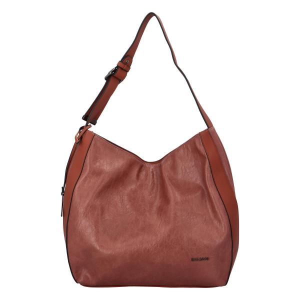 Dámská koženková kabelka BULAGGI Heather, růžová