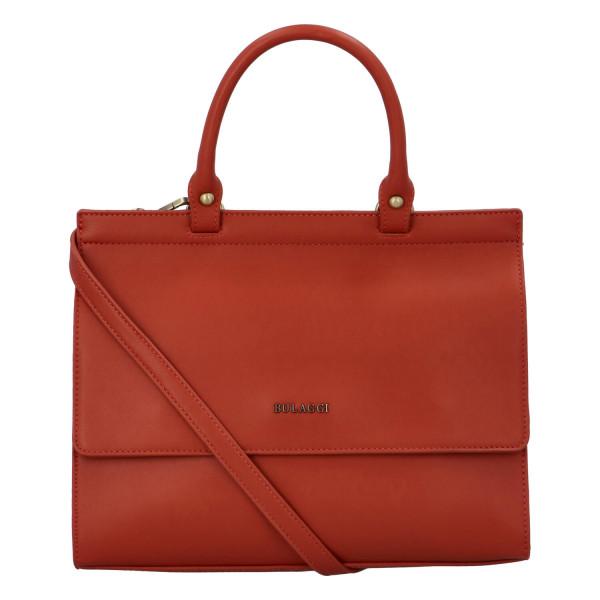 Dámská koženková kabelka BULAGGI Cynthia, oranžová