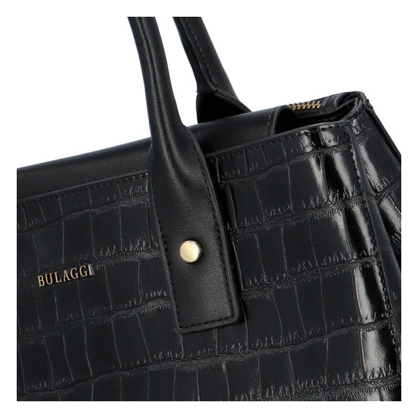 Dámská koženková kabelka BULAGGI Iris, černá