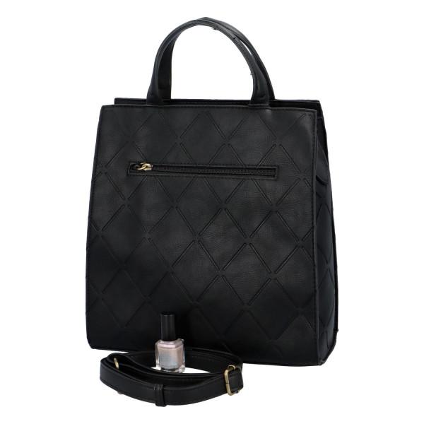 Dámská koženková kabelka BULAGGI Sam, černá