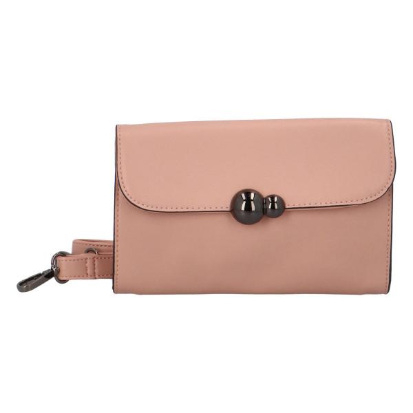 Dámská koženková kabelka BULAGGI Irina, růžová