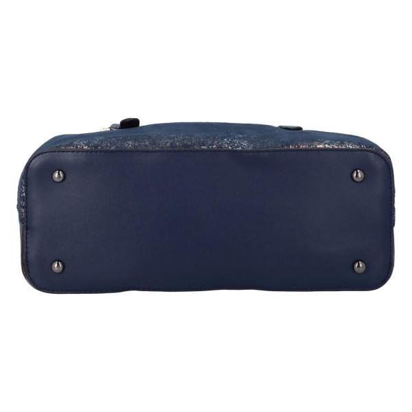 Dámská koženková kabelka BULAGGI Flame, modrá
