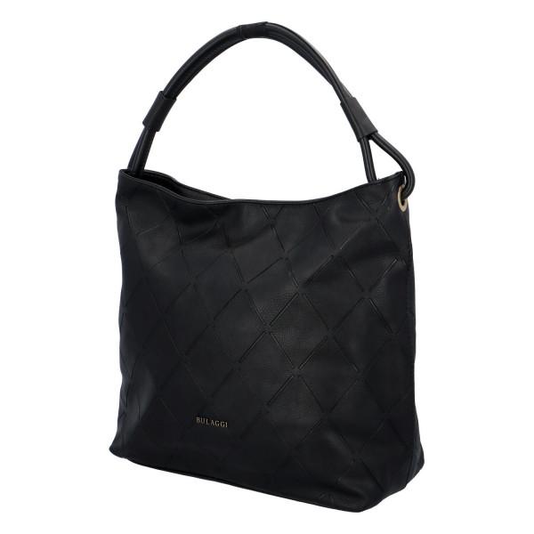 Dámská koženková kabelka BULAGGI Gauze, černá