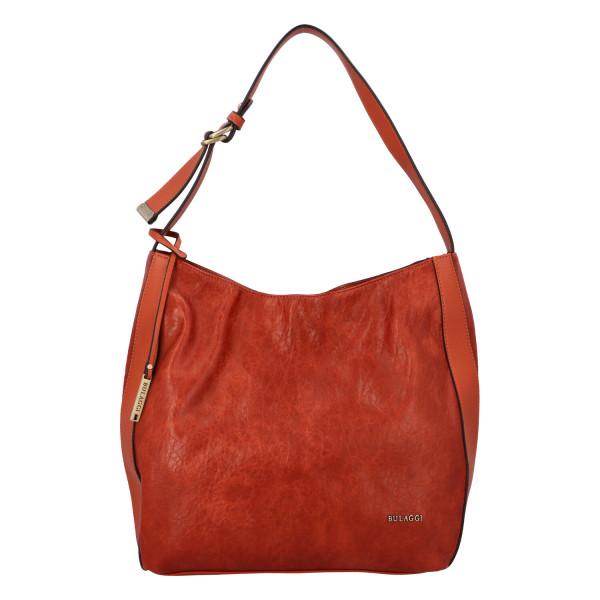 Dámská koženková kabelka BULAGGI Heather, oranžová