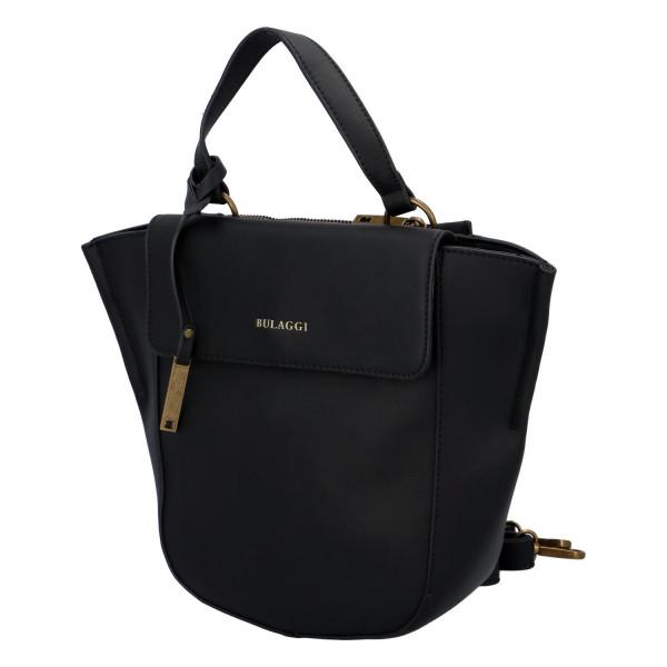 Dámská koženková kabelka BULAGGI shopping Acorn, černá