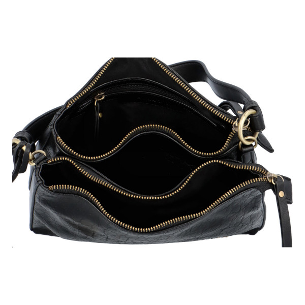 Dámská koženková kabelka BULAGGI Elegance, černá