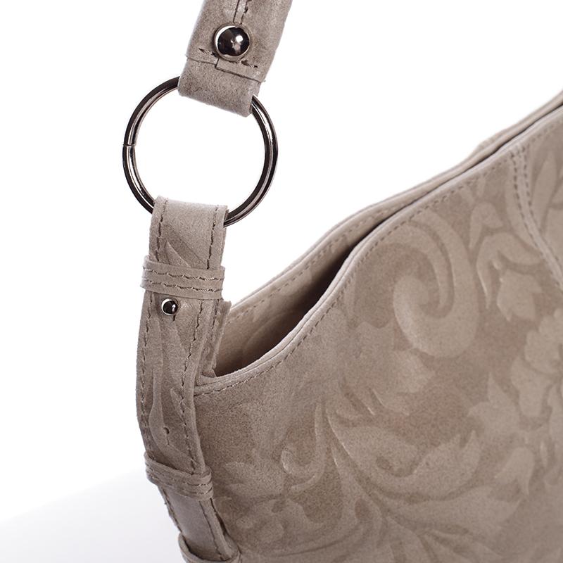 Stylová dámská kabelka Anjali, světle béžová
