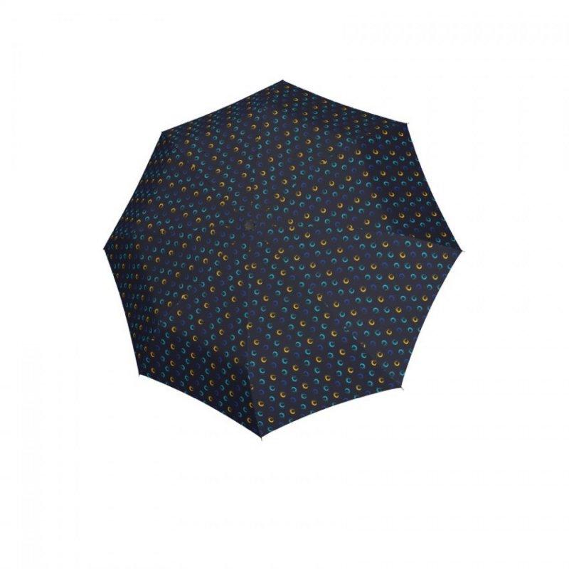 Hit Mini Highlight - dámský skládací deštník, modrý