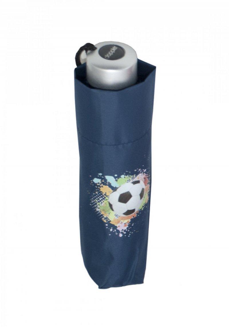 Mini Light Kids - dětský skládací deštník, modrý