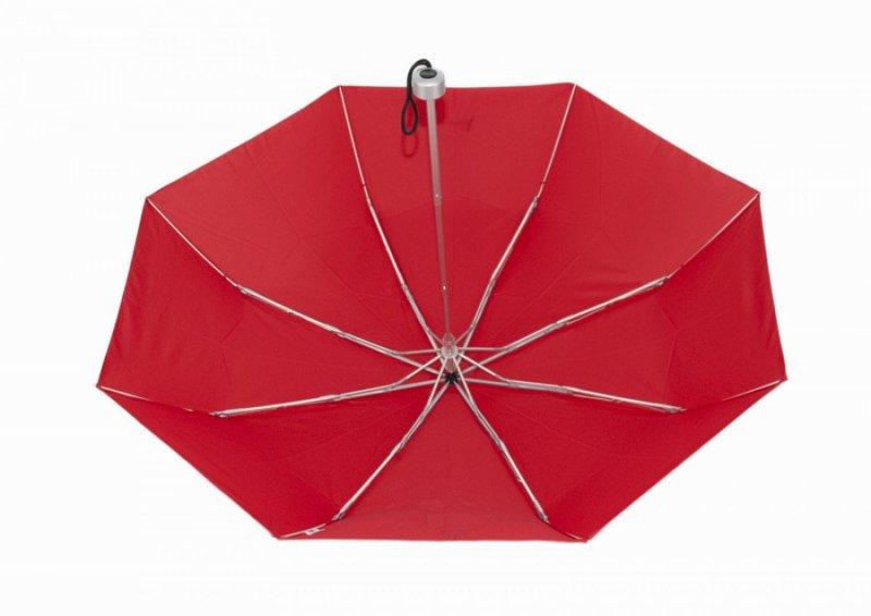 Mini Light Kids - dětský skládací deštník, červený