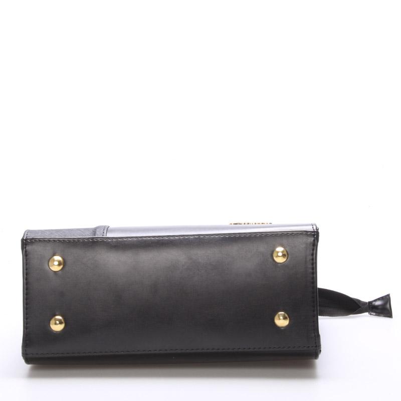 Atraktivní kabelka do ruky Jenny, černá