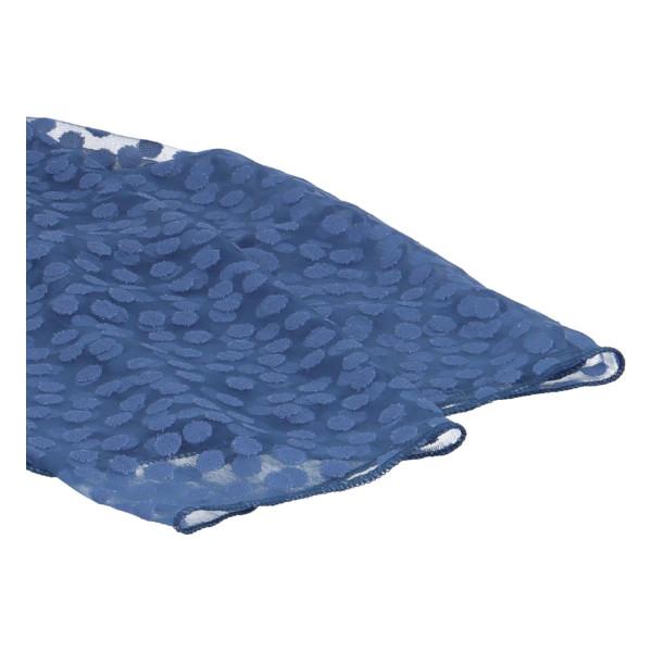 Elegantní letní šátek Lia kolem krku, modrá