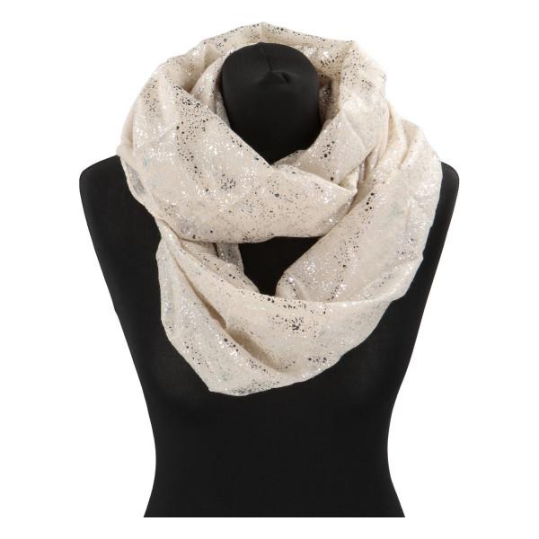 Dámský lehký šátek Sprinkle, béžový