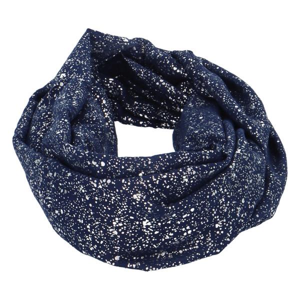 Dámský lehký šátek Sprinkle, tmavě modrý
