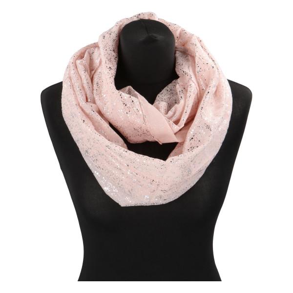 Dámský lehký šátek Sprinkle, růžový